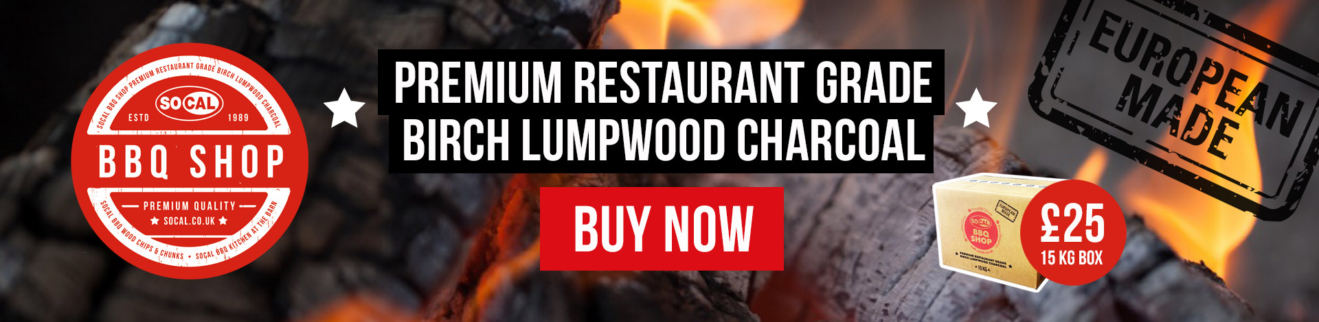 BBQ shop premium charcoal buy now