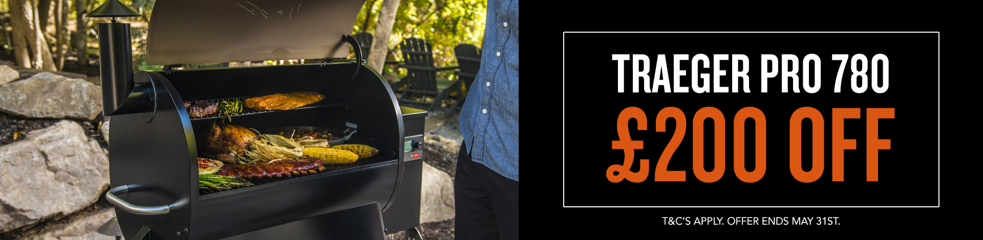 Traeger Pro 780 May offer