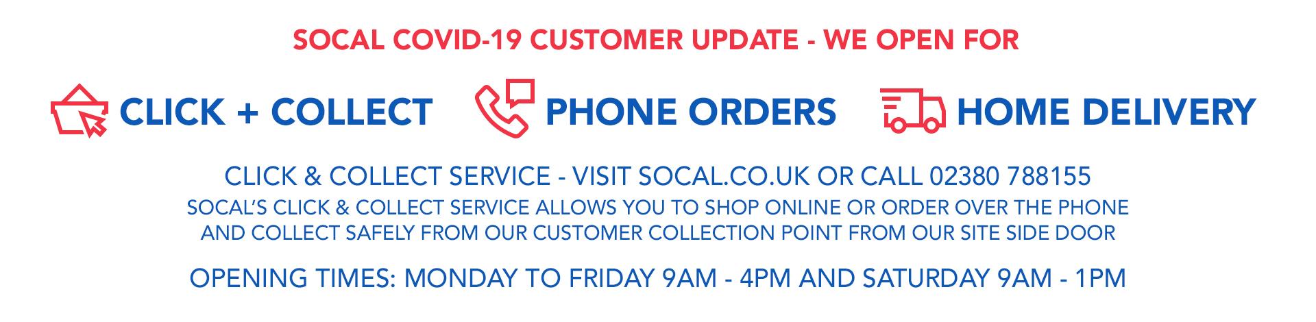 Covid19 Customer Update April
