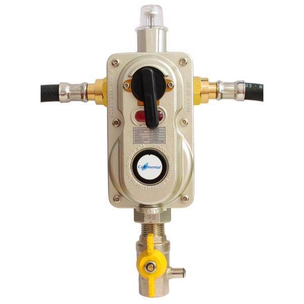 Continental 2 Cylinder Automatic Change Over Valve with OPSO Image 1