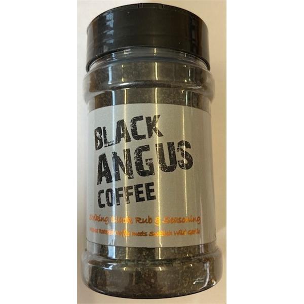 Rusty BBQ Black Angus Coffee Rub 200g Image 1