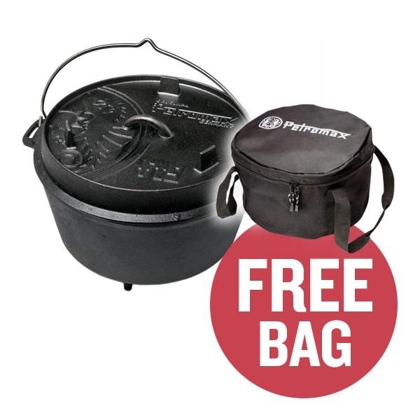 Petromax  Dutch Oven FT9 (With Feet) & FREE BAG Image 1