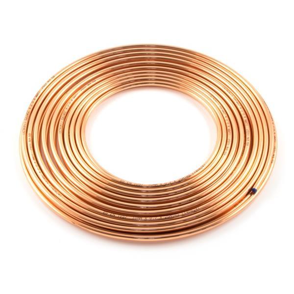 3/8  x  1Mtr Copper Pipe BS2871 or EN1057 Image 1