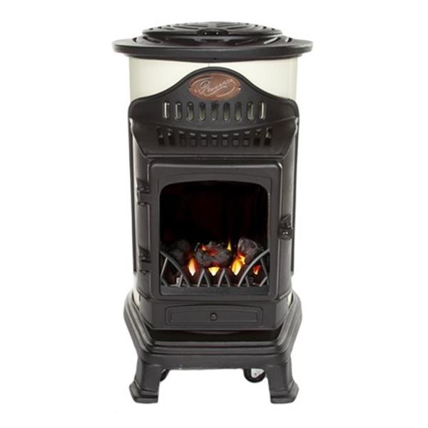 Provence Calor Real Flame Effect 3kW Cream Gas Heater Image 1