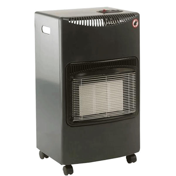 Lifestyle Seasons Warmth Grey 4.2kw Radiant Portable Gas Heater  Image 1