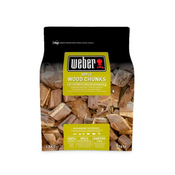 Weber Apple Wood Chunks Image 1