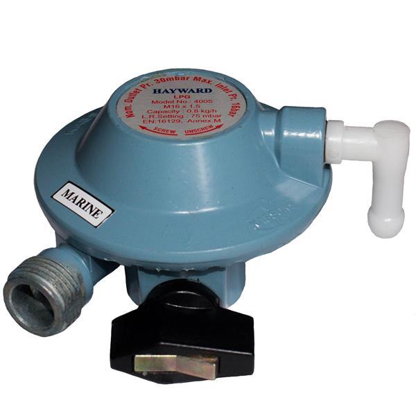 GasBoat 4001 Marine Clip-on Regulator  BS EN 16129 Annex M Image 1