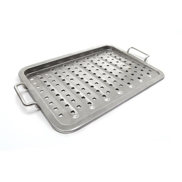 Broil King Stainless Steel Grill Topper Image 1
