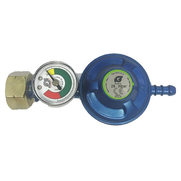 IGT 4.5 Butane Regulator Including Manometer Image 1