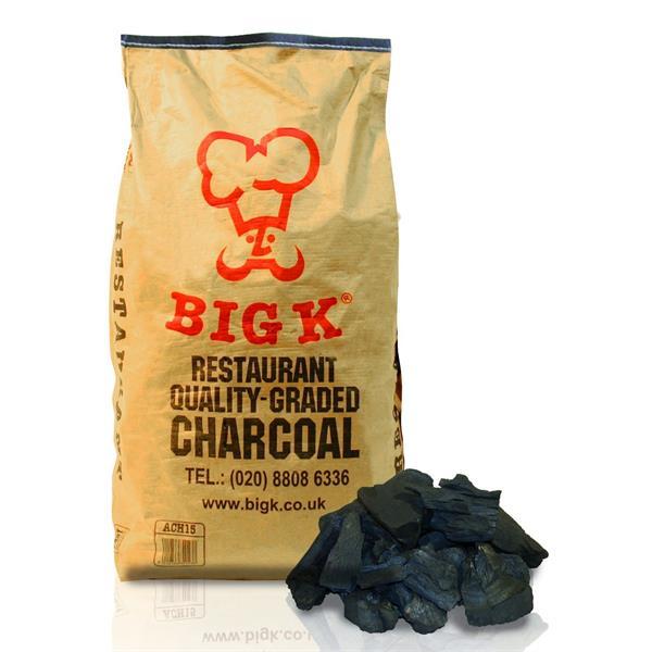 Big K 15kg Restaurant Grade Charcoal Image 1
