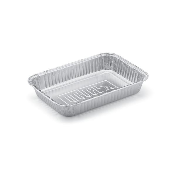 Weber Small Drip Pans - Pack of 10 Image 1