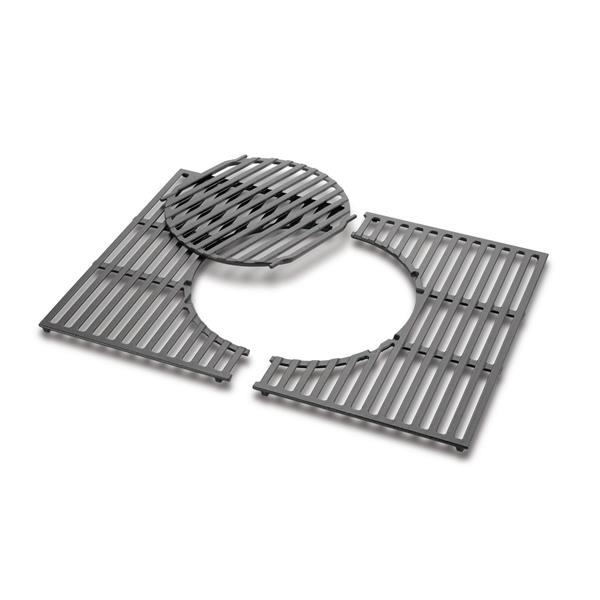 Weber Genesis 300 Series Cast Iron Gourmet Barbecue System Cooking Grates Image 1