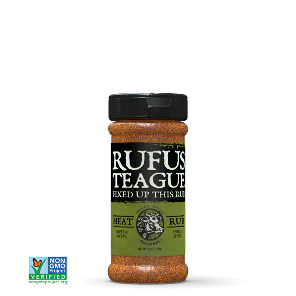 Rufus Teague Meat BBQ Rub 184g Image 1