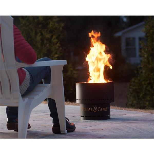Flame Genie Large Woodpellet Firepit  Image 1