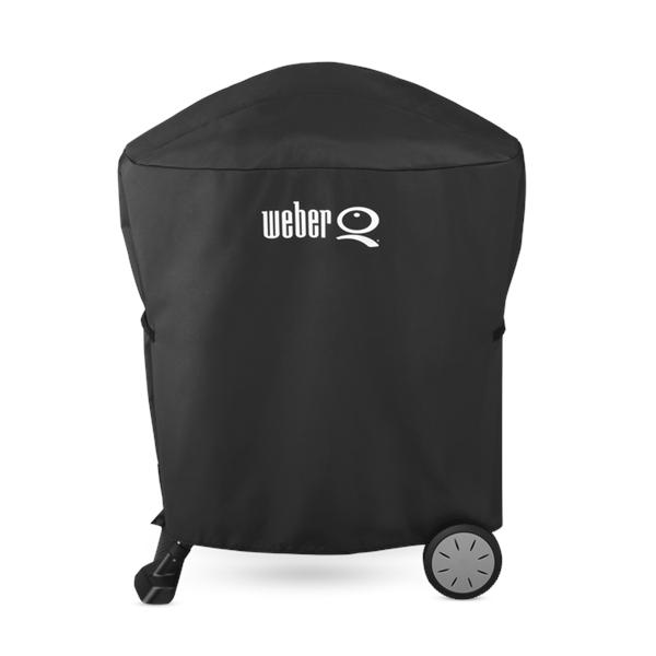 Weber Q Premium Barbecue Cover Image 1