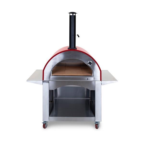 Alfresco Chef Milano Red Pizza Oven Image 1