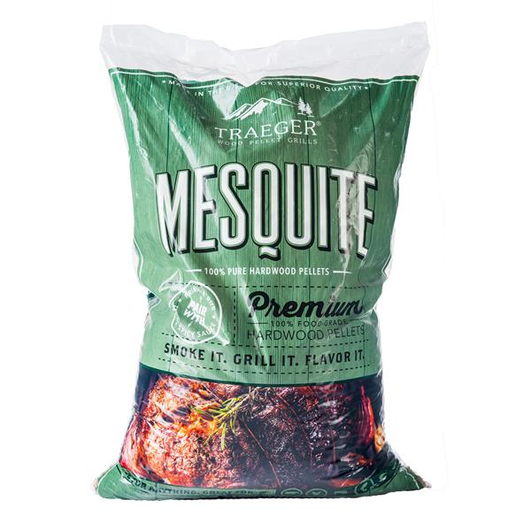 Traeger Mesquite Wood Pellets (20lb) Bag Image 1