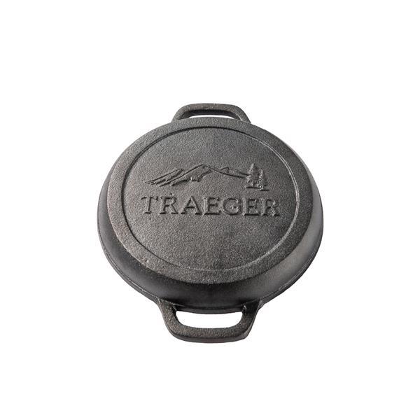 Traeger 9 inch Cast Iron Cornbread Skillet Image 1