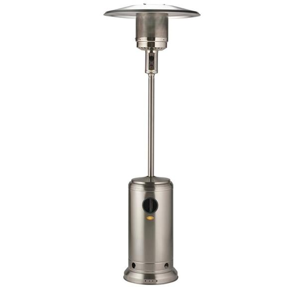Lifestyle Edelweiss Stainless Steel Patio Heater Image 1