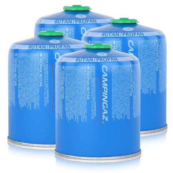 4 x Campingaz CV470 Gas Cartridge 470g Image 1