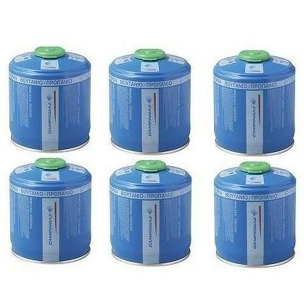 6 x Campingaz CV470 Gas Cartridges 470g Image 1