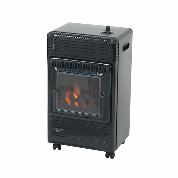 Lifestyle Living Flame 3.4kW LPG Portable Heater Image 1