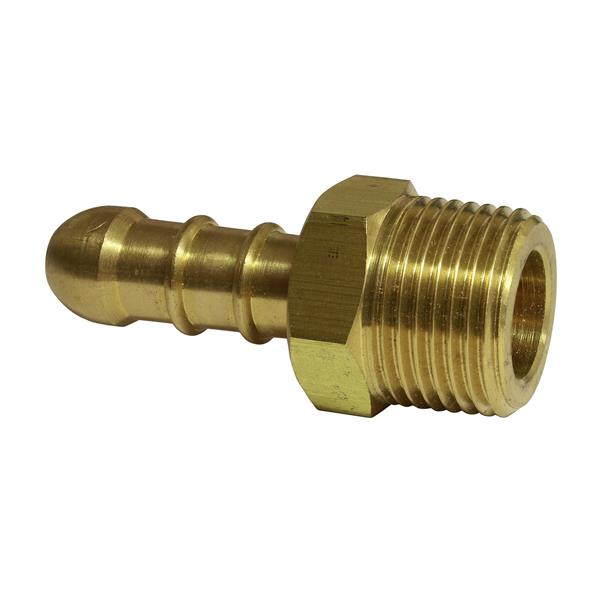 3/8 BSP Male Low Pressure 8mm Hose Nozzle Image 1