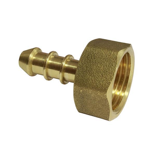 3/8 BSP Female Low Pressure 8mm Hose Nozzle Image 1