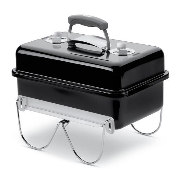 Weber Go-Anywhere Charcoal Black Barbecue Image 1