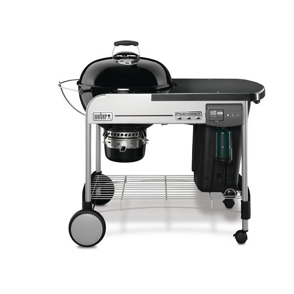 Weber Performer Deluxe GBS Charcoal Grill 57cm Image 1
