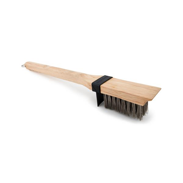 Broil King Heavy Duty Wooden Grill Brush Image 1