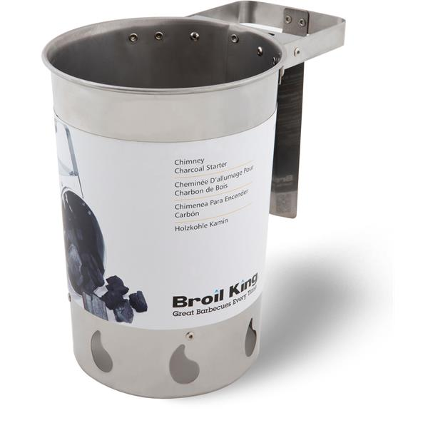 Broil King Keg Charcoal Chimney Starter Image 1