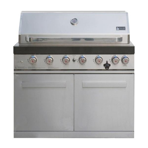 Mont Alpi 6 Burner Stainless Steel Build-in Barbecue Image 1