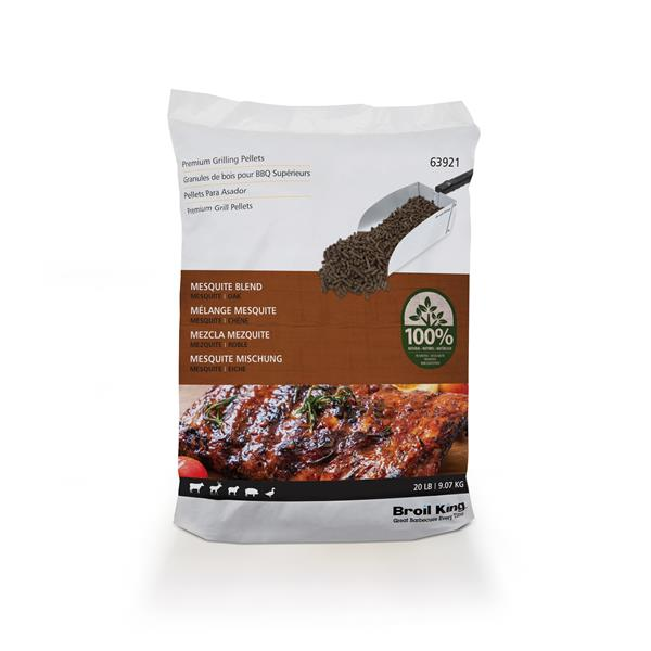 Broil King 9kg Mesquite Wood Pellets Image 1
