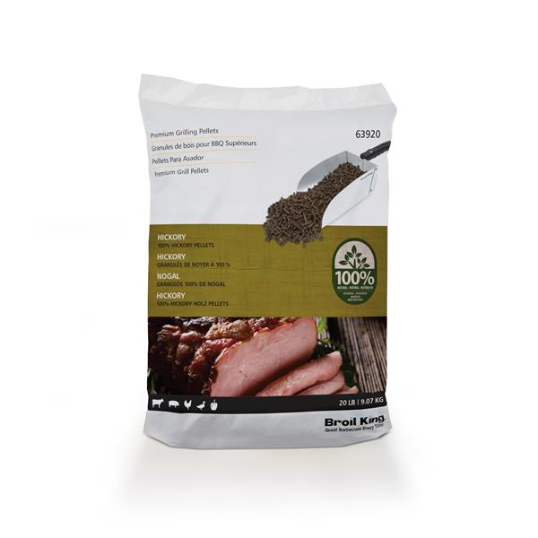 Broil King 9kg Hickory Wood Pellets Image 1