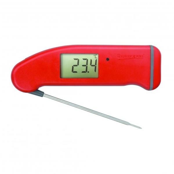 Thermapen Pro Red Probe Thermometer Image 1