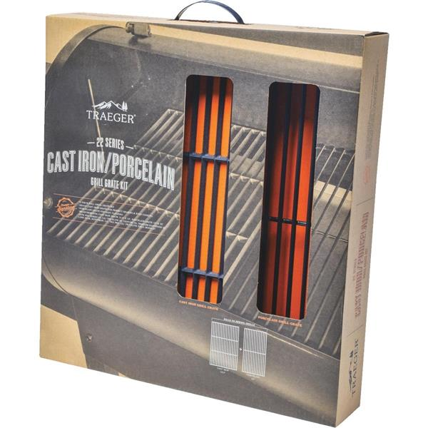 Traeger Cast Iron Grill Grate Kit Small Image 1