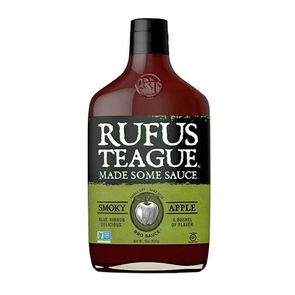 Rufus Teague Apple Mash BBQ Sauce 453g Image 1