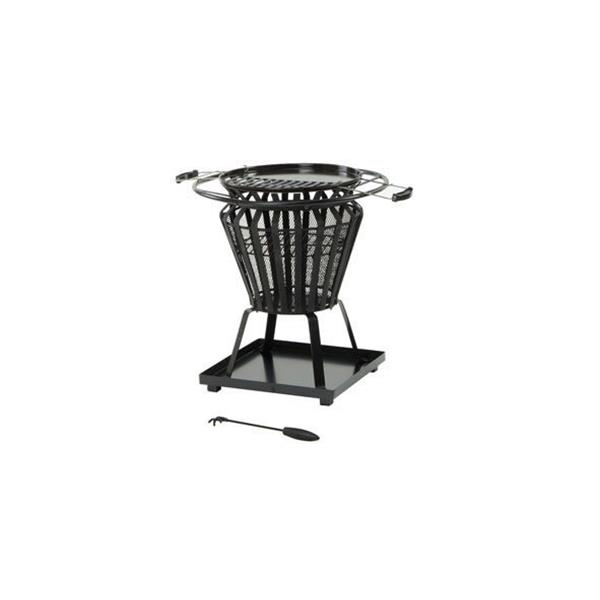 Lifestyle Signa Round Firepit & Grill Image 1