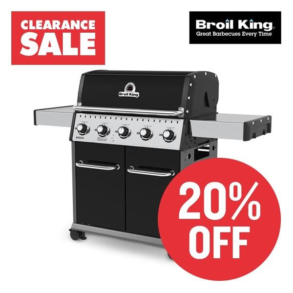 Broil King Baron 520 Barbecue RRP £999 Now £799 Image 1