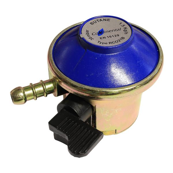 Standard 21mm Clip-on Butane Regulator 29mb 1.5kg Image 1