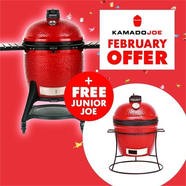 Buy the Kamado Joe Big Joe 3 & Get a Kamado Joe Junior FREE! Image 1