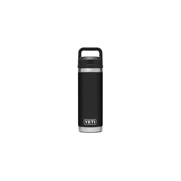 Yeti Rambler 18oz Bottle - Black Image 1