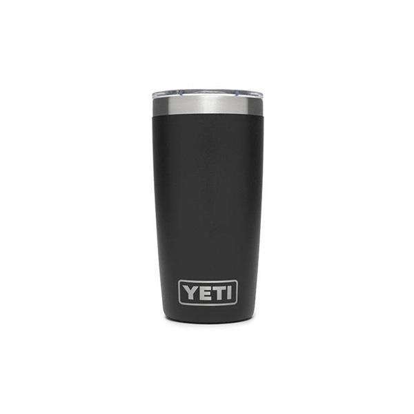 Yeti Rambler 10oz Tumbler - Black Image 1