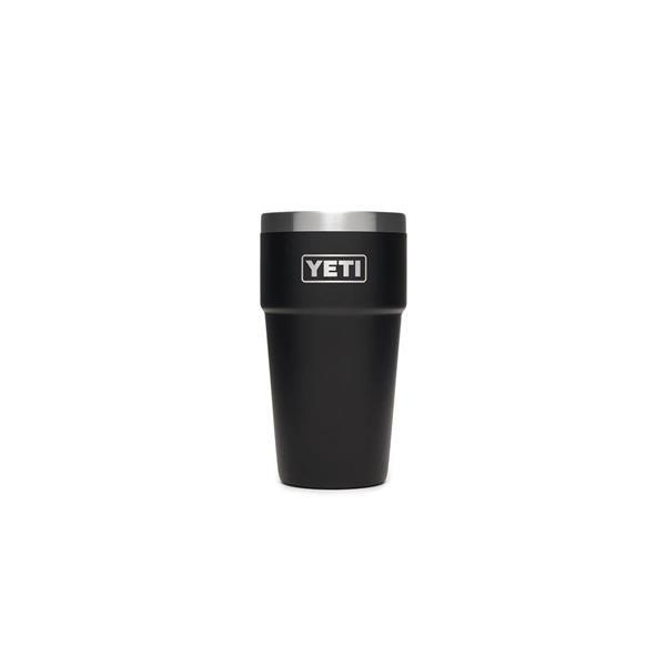 Yeti Rambler 16oz Stackable Pint - Black Image 1