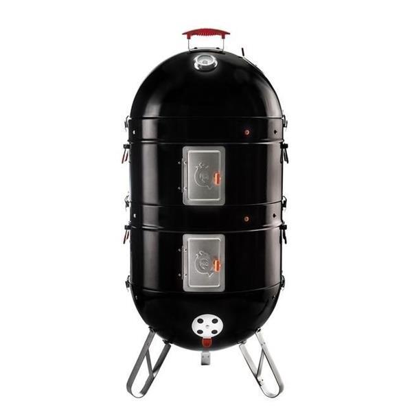 Pro Q Excel Charcoal BBQ Smoker Image 1