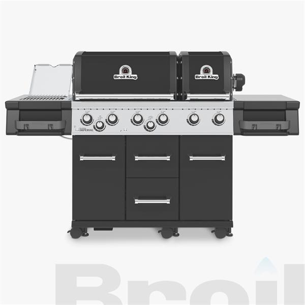 Broil King® Imperial™ 690 IR Black Barbecue Image 1
