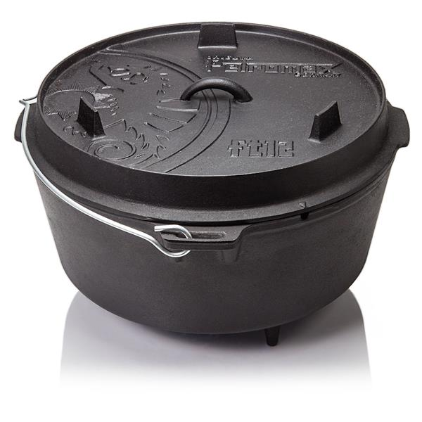 Petromax Dutch Oven FT12 (10.8 Litre) With Feet Image 1