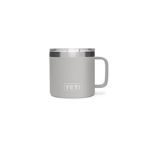 Yeti Rambler 14oz Mug - Granite Grey Image 1