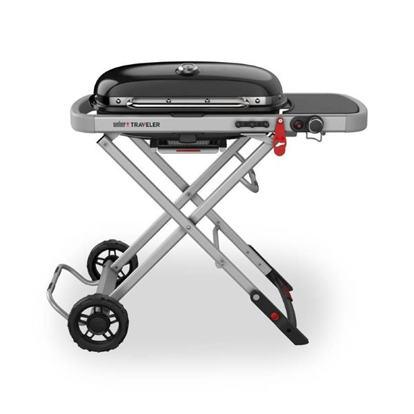 Weber® Traveler Black Gas Barbecue Image 1